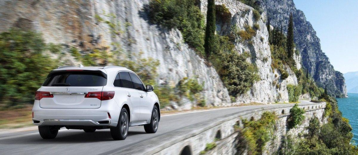 2017 Acura MDX Sport Hybrid Leads Updated Range (+50