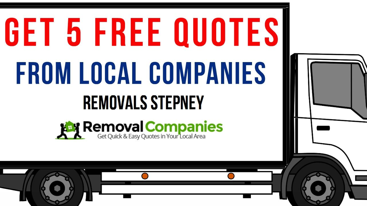 Removals Stepney - Get Your Free Quote Today