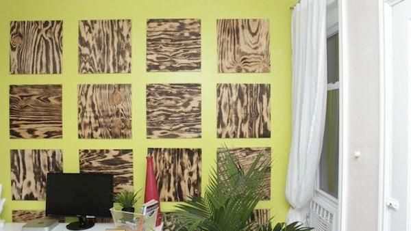 Plywood isn't often thought of as cool or modern, but here's how you can change that perception with this accent wall project!