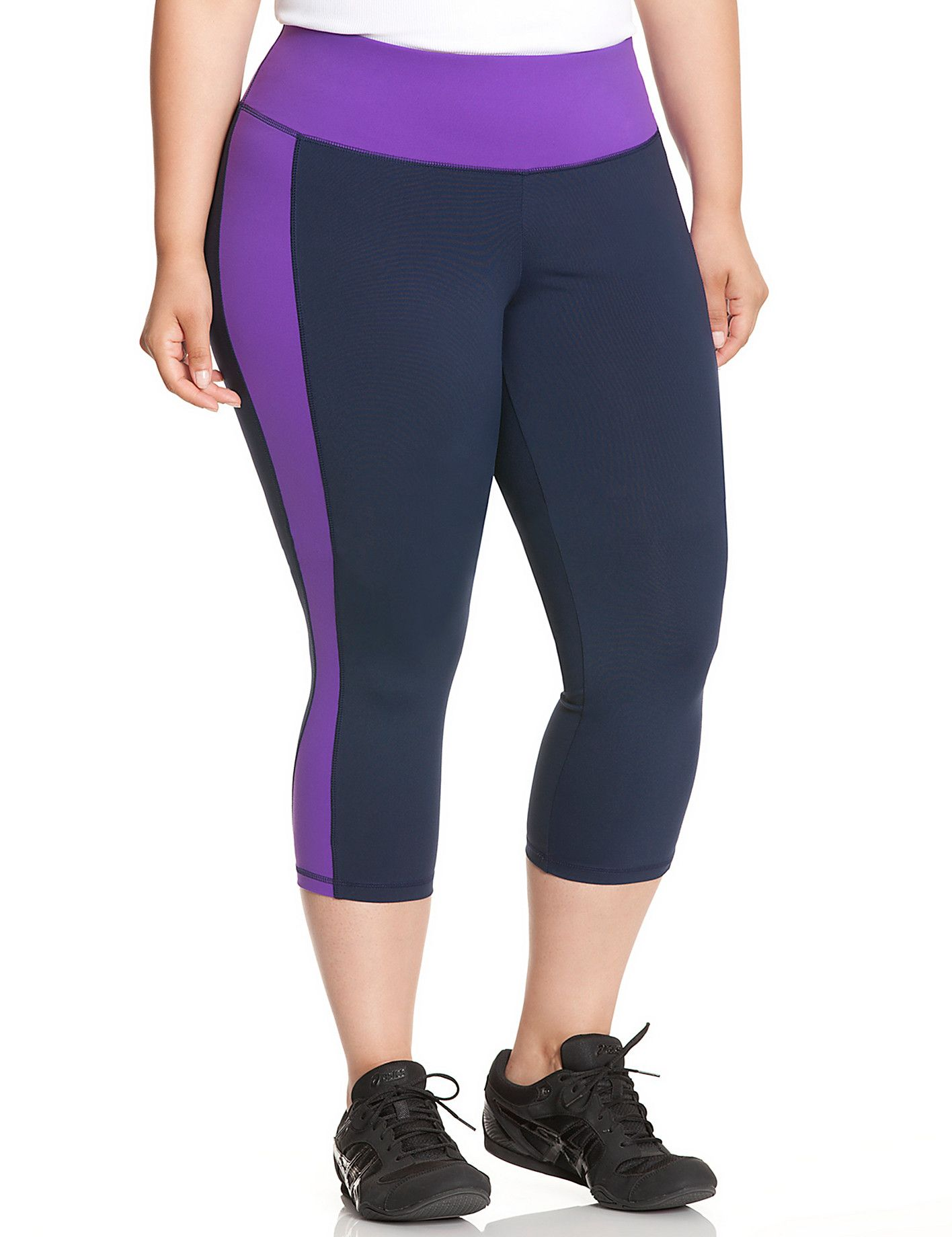 72a74a329be TruDry colorblock capri legging by Lane Bryant