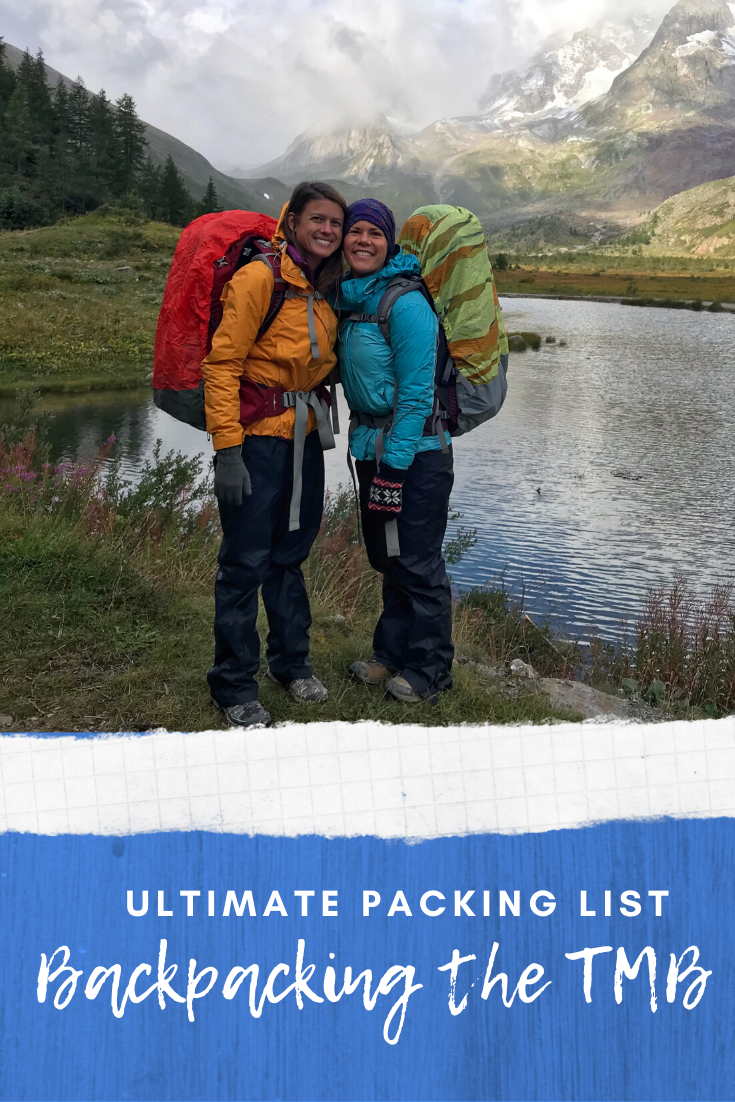 Photo of Packing List for Backpacking The TMB