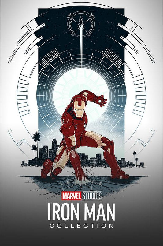 Iron Man Collection Art Print by Geek N Rock