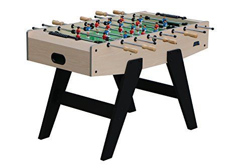 Kick Foosball Table Silver Freedom 48 In Extremely Durable And Elegant Easy Assembly Directions Kick Brand Qualit Foosball Foosball Table Foosball Tables