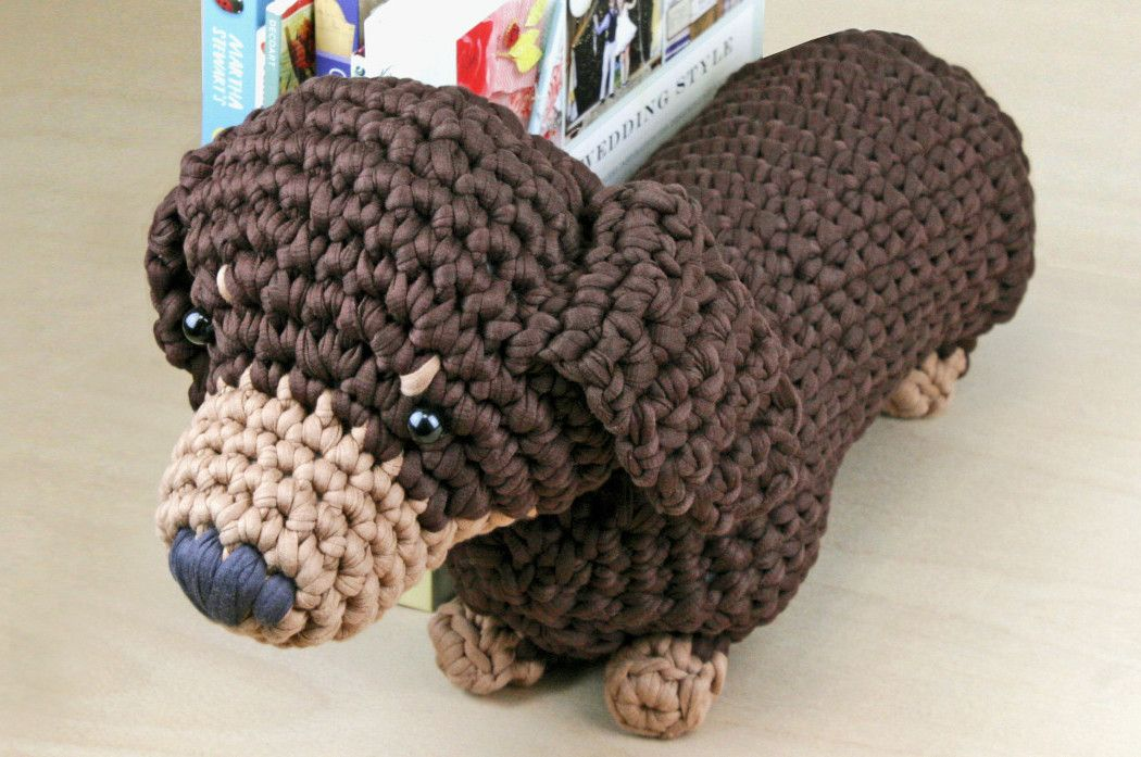 Amigurumi Wiener Dog Pattern : Dachshund crochet pattern google search haken