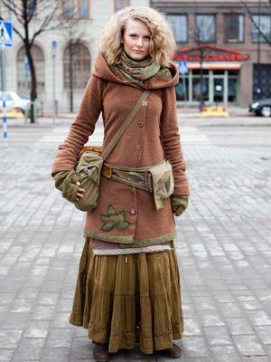 Стиль бохо шик в одежде и украшениях в 2015 году
