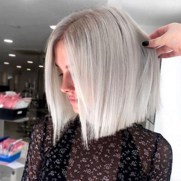 Ice Blonde Hair Colors for Winter 2020 That'll Have You Feeling Like Elsa