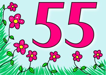 Verjaardag 55 Jaar Leuke Plaatjes Pinterest Birthday Art