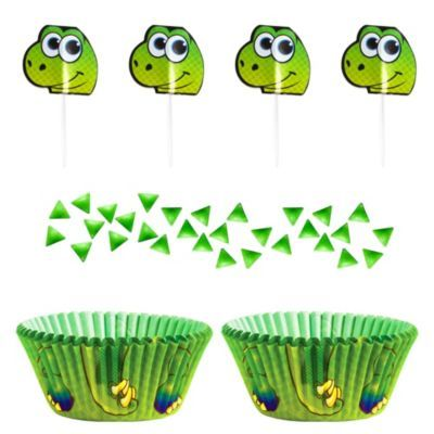 Wilton Dinosaur Cupcake Decorating Kit Dinosaur cupcakes