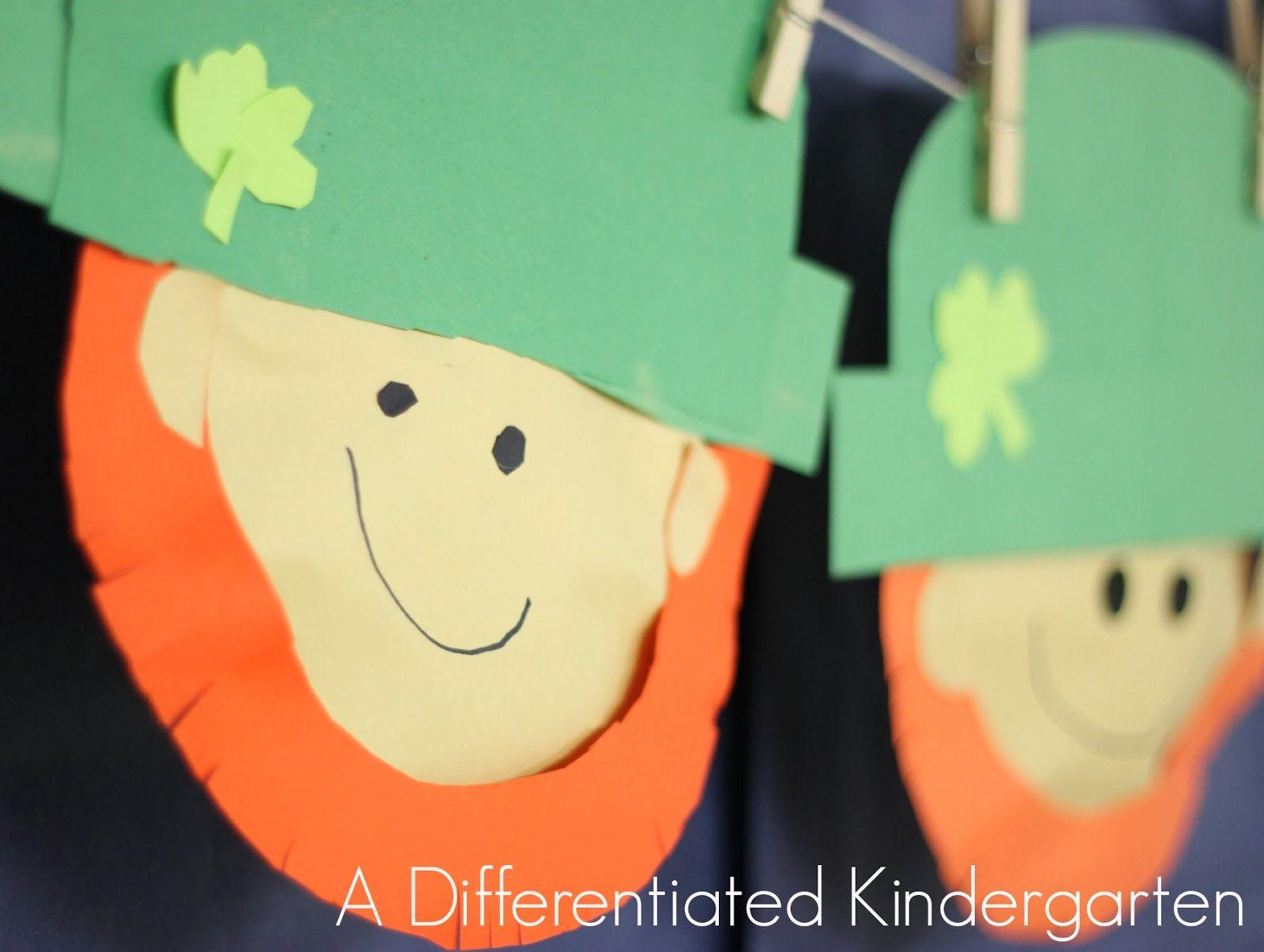 A Differentiated Kindergarten Differentiated Kindergartens Leprechaun Shenanigans Begin