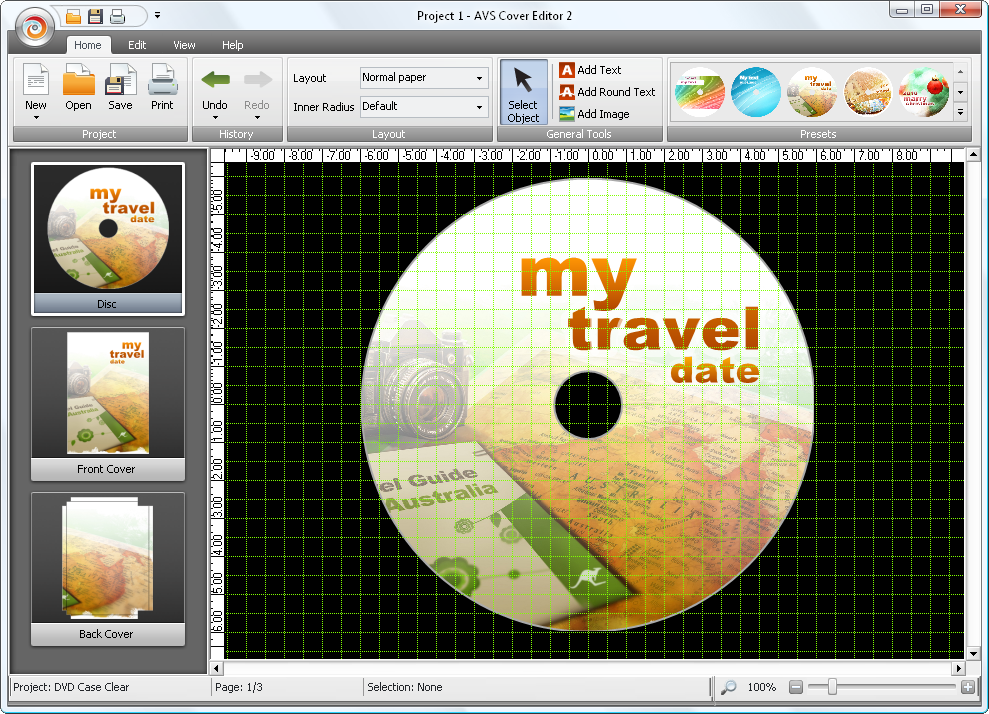 make your own cd cover online free