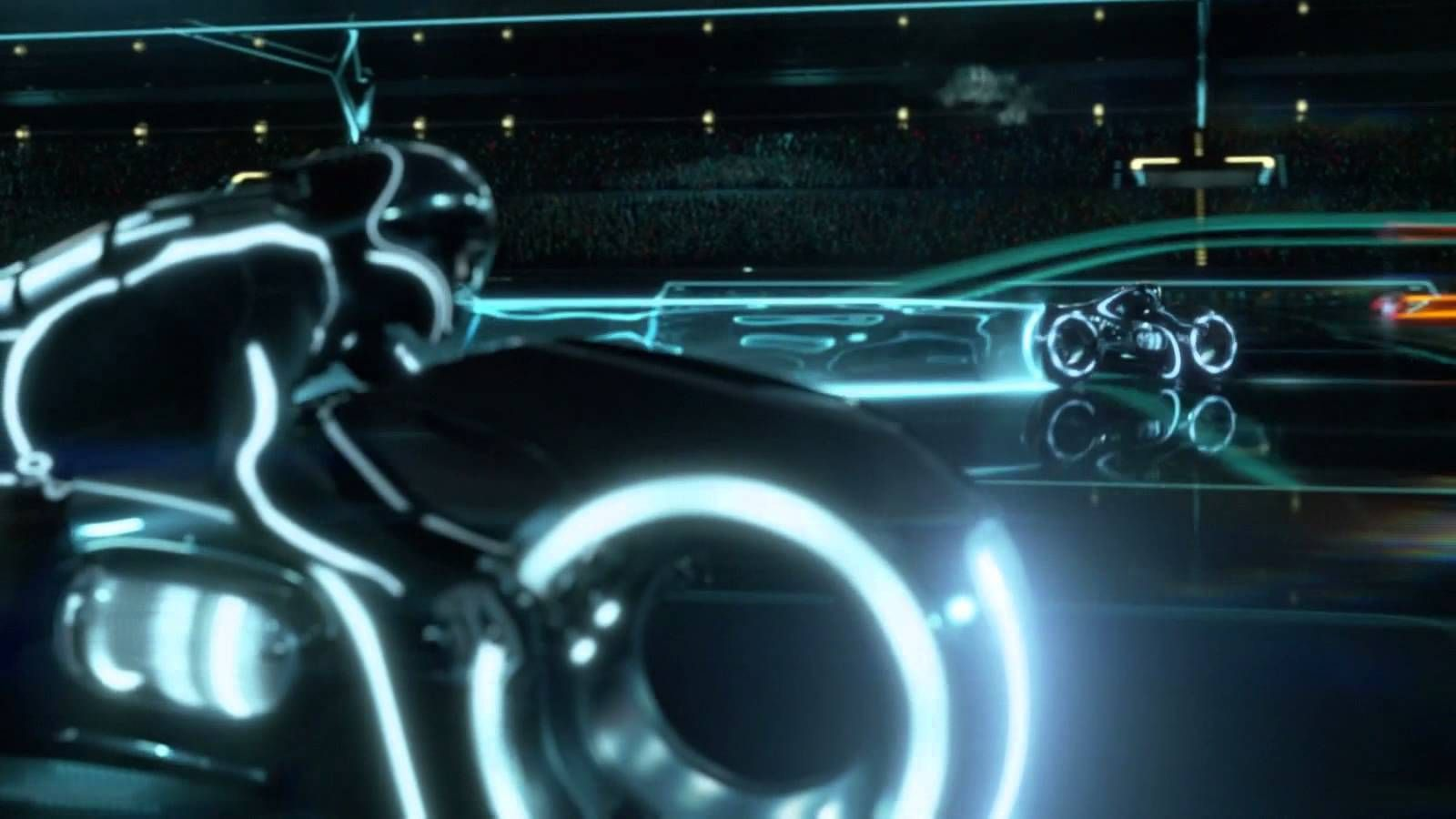 The Tron Light Bikes Scene Is Also Great For Submoments Tron