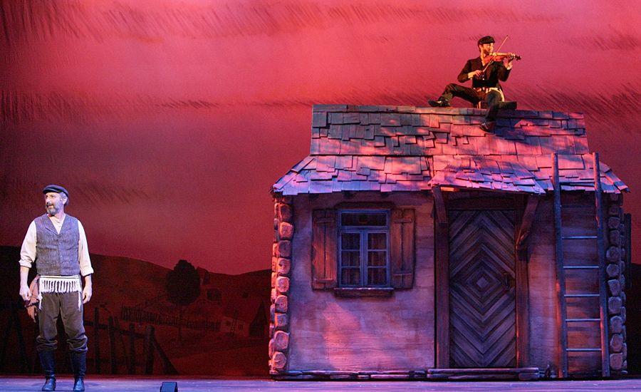 Fiddler on the Roof Fiddler on the roof, Fiddler, Set