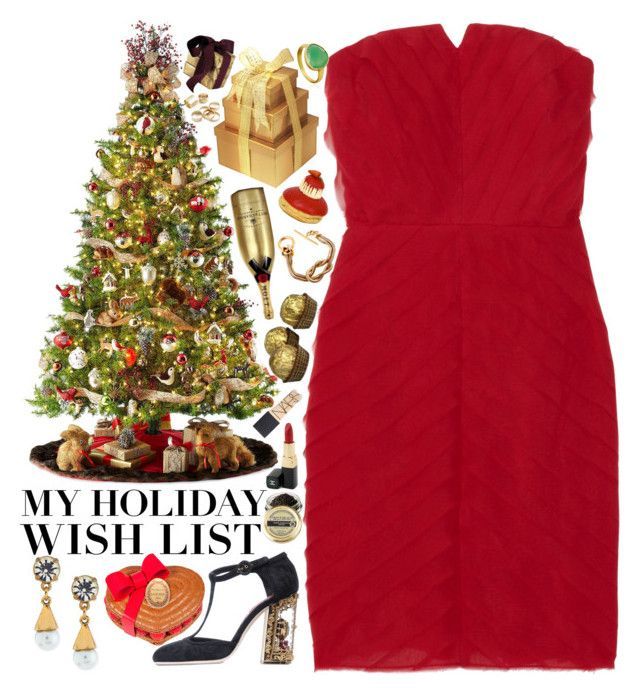 """""""The Holiday Wish List With Neiman Marcus: Contest Entry"""" by upperleft-lowerright ❤ liked on Polyvore featuring Neiman Marcus, Lulu Frost, Ladurée, General Foam, ADAM, Dolce&Gabbana, MoÃ«t & Chandon, Gucci, Chanel and Frette"""