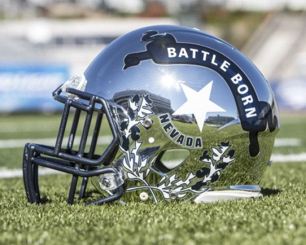 Nevada Wolf Pack Football Uniforms Football Helmets Football Nevada Wolf Pack