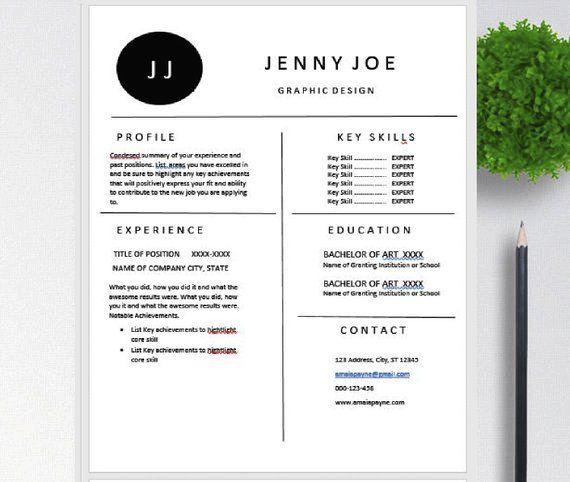 openoffice resume  pages open office  clean  u0026 modern