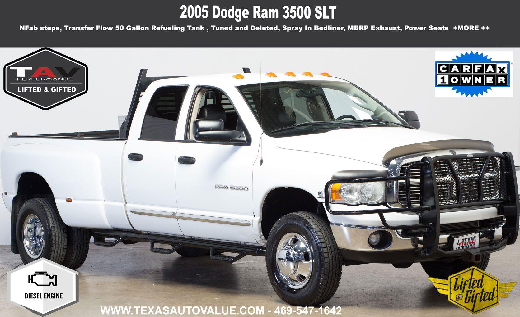 2005 Dodge Ram 3500 Slt Used Trucks Ram 3500 Dodge Ram 3500