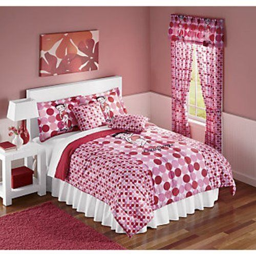 . Betty Boop Comforter Red Dots Style by Popular Bath Products   49 95