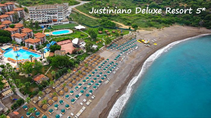 Justiniano Deluxe Hotel 5 Alanya Oteli Alanya Tur