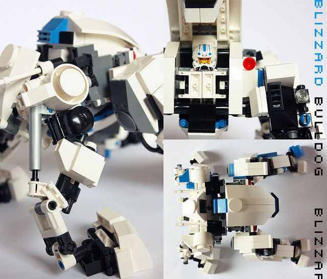 Blizzard Bulldog Lego Creations Lego Mecha Lego Builder