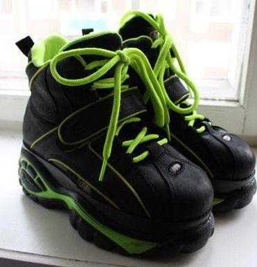 Buffalo London Classic Boots Shoes Plateau 90er Camouflage Limitiert /& Exklusiv