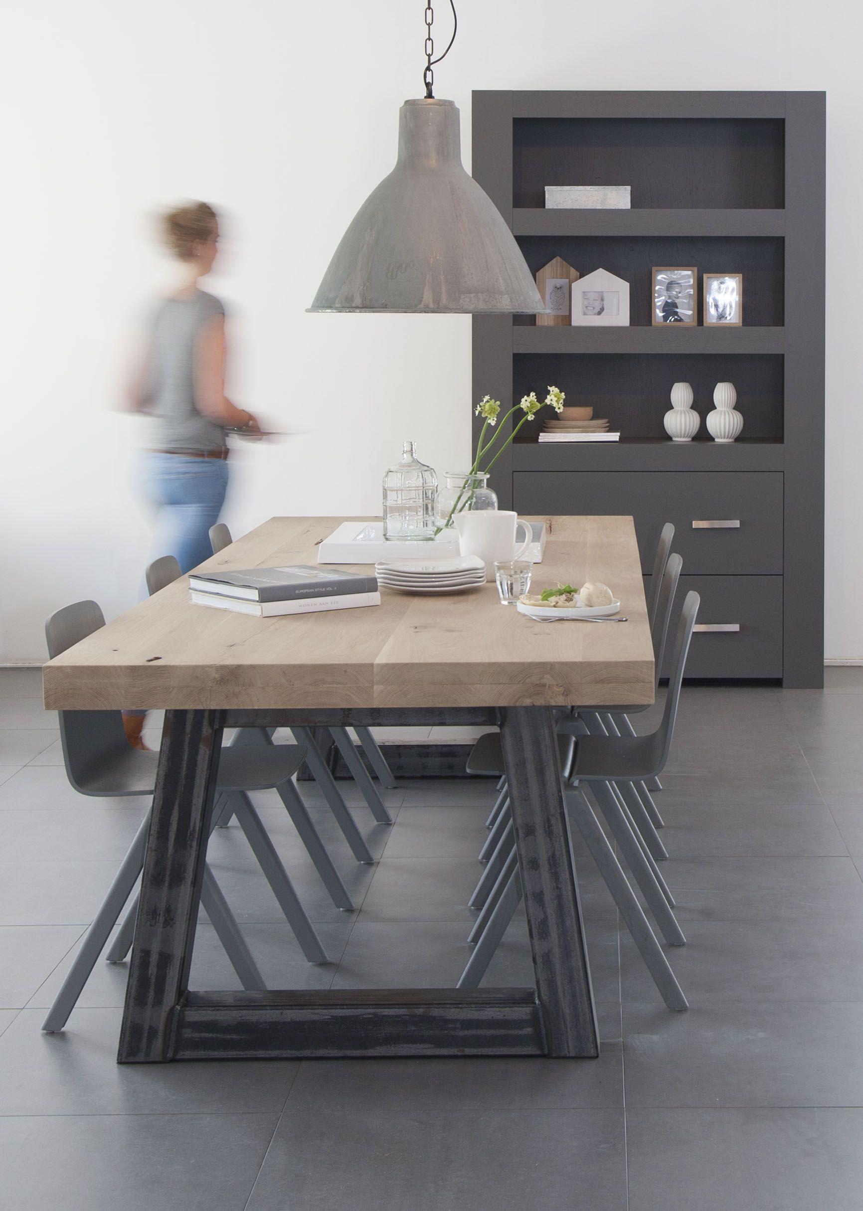 Pin von mar a orti a auf comedor esszimmer dining room for Kuchentisch industrial