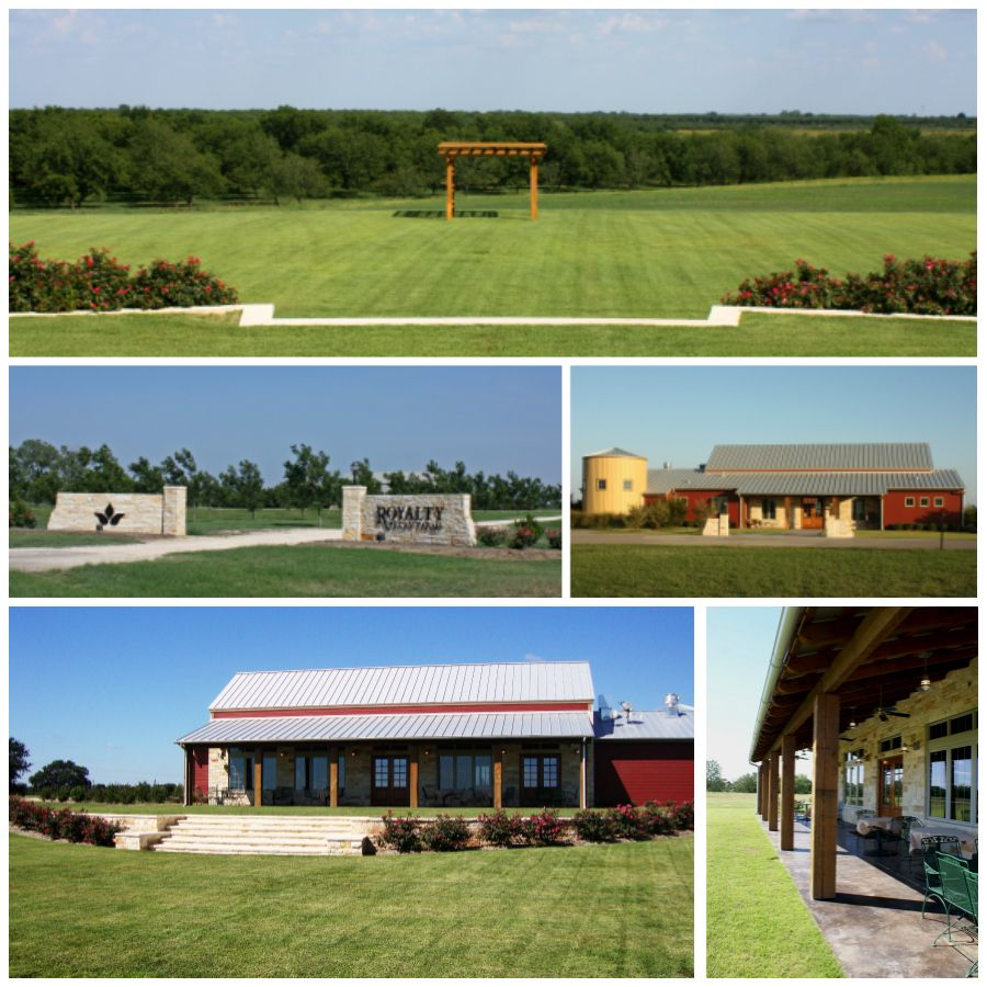 Royalty Pecan Farms wedding venue just outside of Bryan
