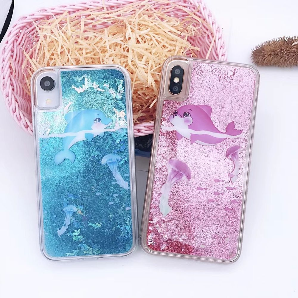 iphone xs case dolphin
