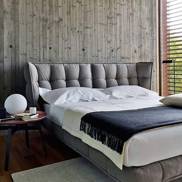 Contemporary Home Style By B B Italia: My Inspiration 4 Friday Husk Bed & Husk Low Table By