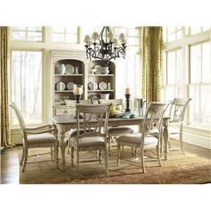 Weatherford 7 Piece Dining Set With Canterbury Table And Delectable Formal Dining Room Table And Chairs Review