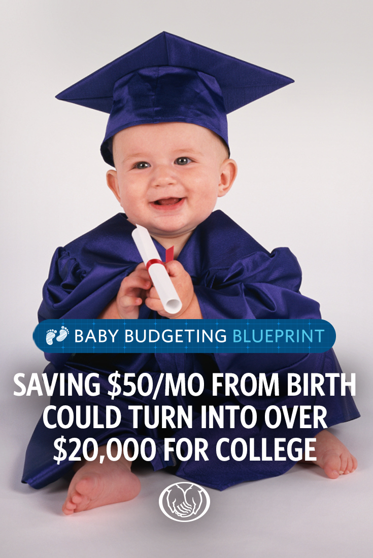 Saving For College? Don't Wait to Get Schooled New baby