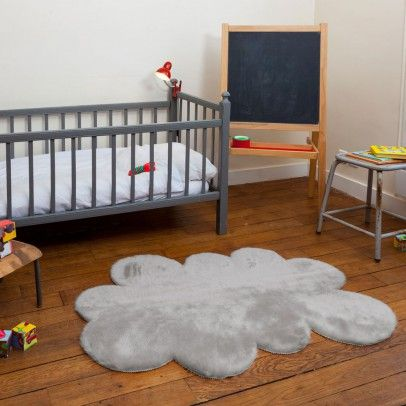 Cloud Carpet Light Grey Pilepoil The Littles Teppich Wolke
