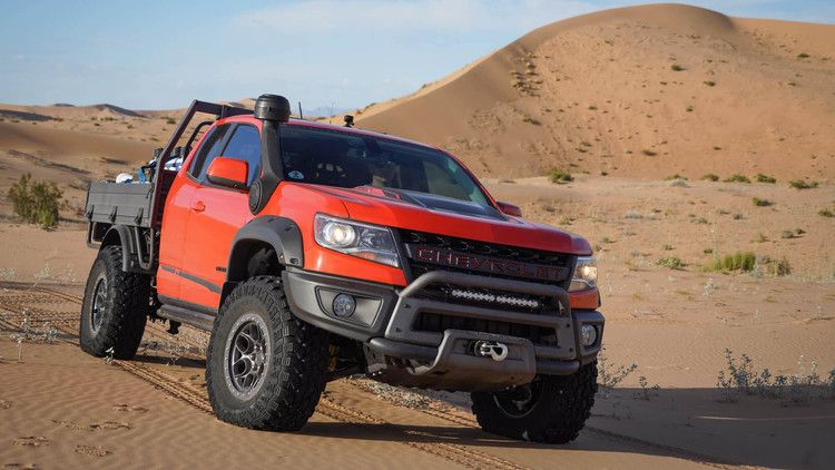 2019 Chevy Colorado ZR2 Bison Tray Bed Concept can carry