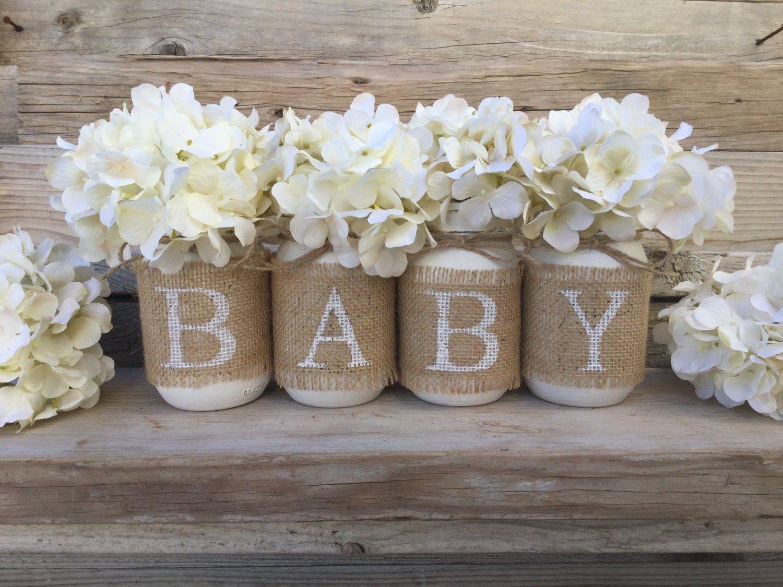 Baby Shower Decor Nursery Decor Rustic Baby Shower Burlap Et Rustic Baby Shower Decorations Baby Shower Fall Rustic Baby Shower