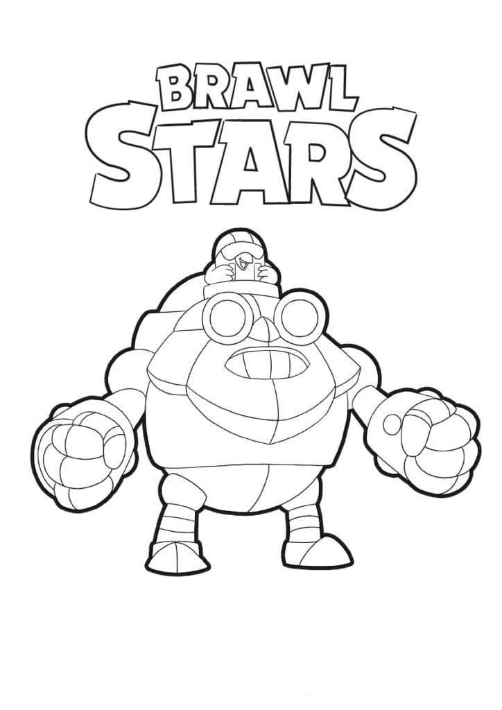 Раскраски Браво Старс (Brawl Stars). 100 картинок ...