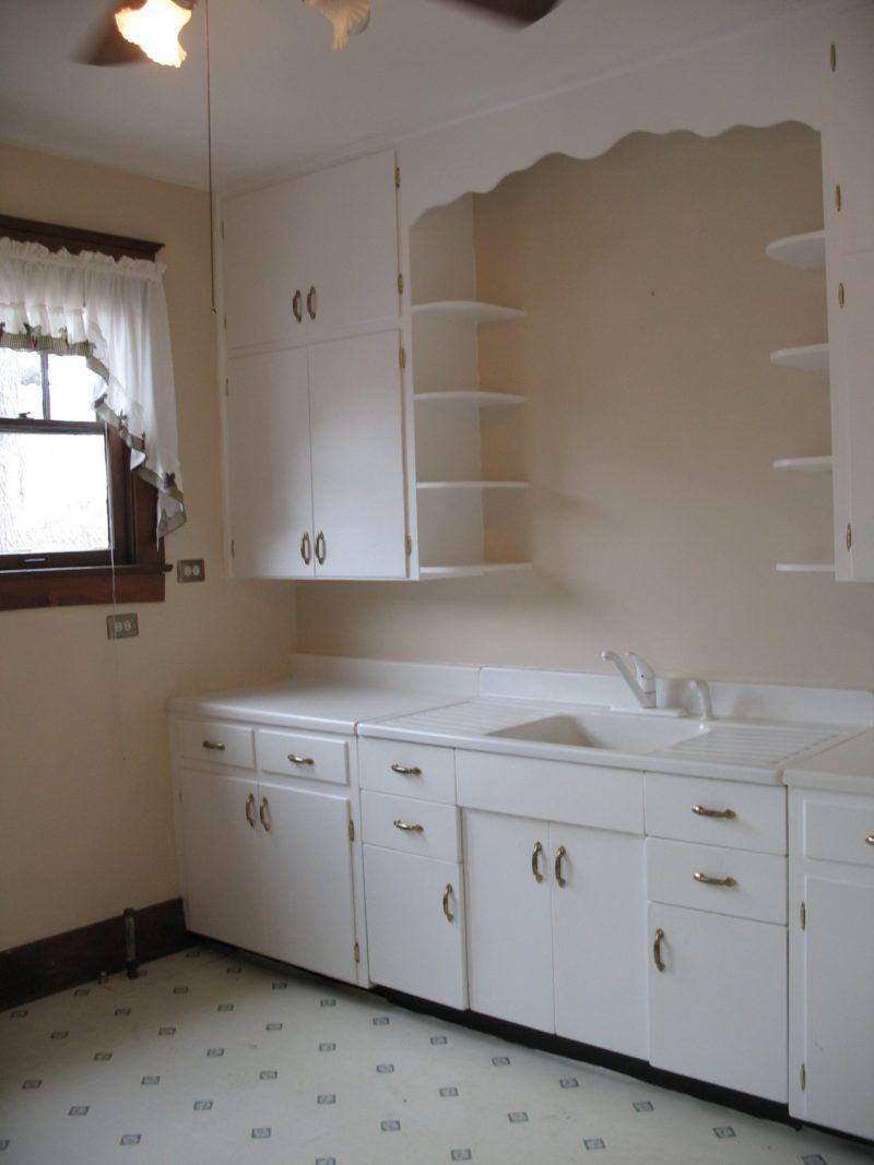 Image result for original 1920s kitchen cabinets   Vintage ...