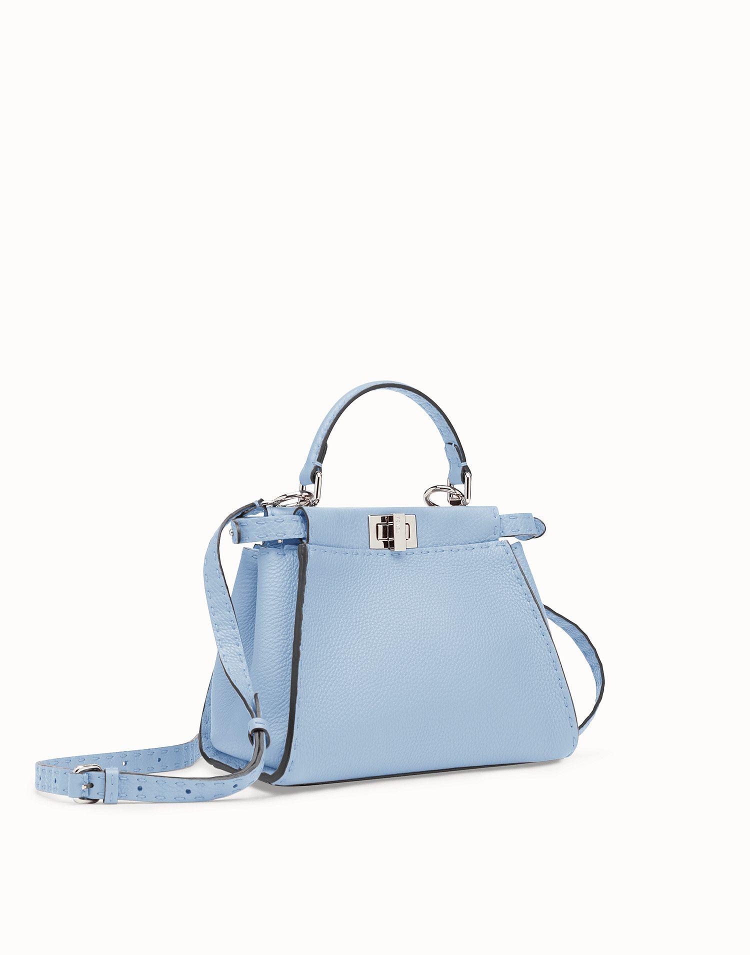 1e965b9a1 Peekaboo mini | Bags | Bags, Fendi peekaboo mini, Leather bag