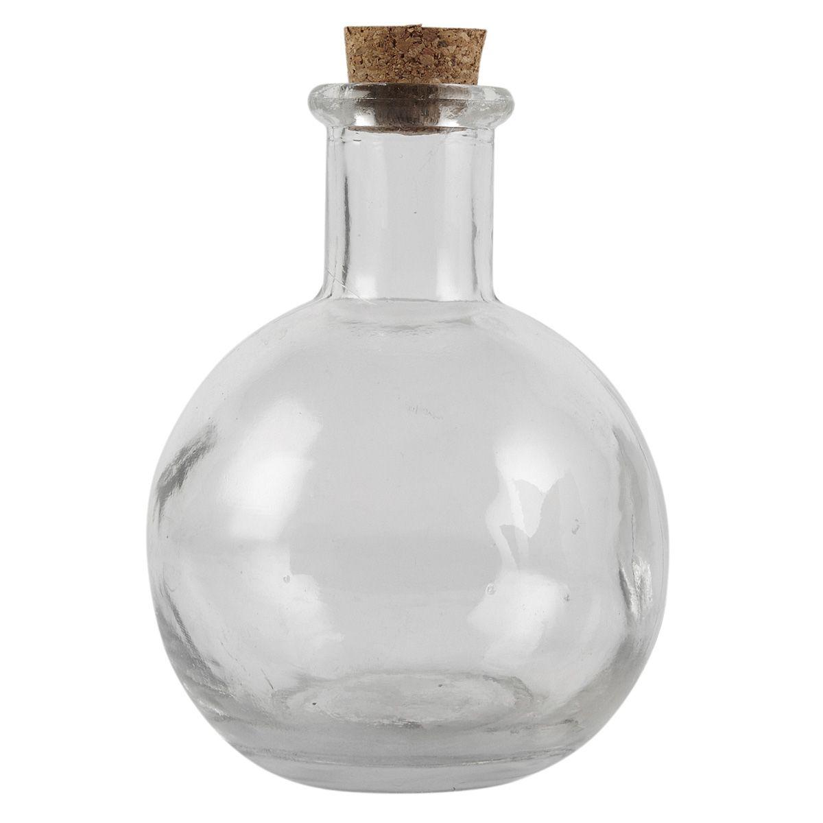 Bulk Round Glass Bottle