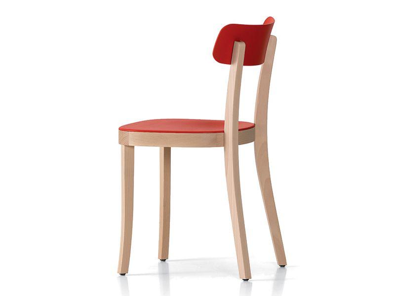 Sedie Da Cucina In Legno : Sedia in legno basel chair by vitra design jasper morrison