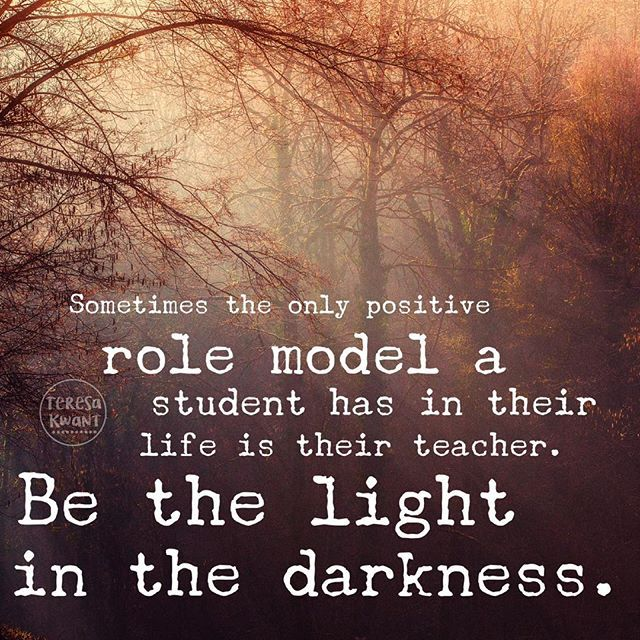 my role model is my teacher