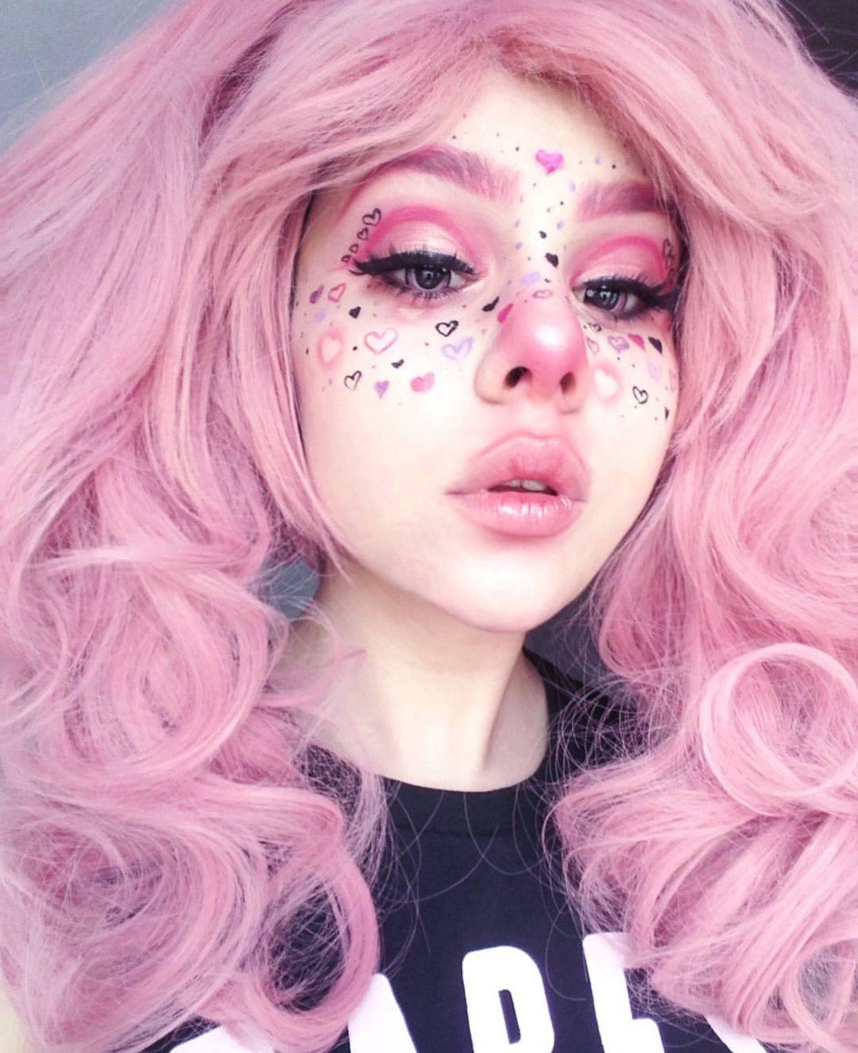 ʚ♡ɞ pinterest horrorbaby Makeup looks, Kawaii makeup