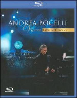 Vivere Live In Tuscany Dvd By Andrea Bocelli Cover Sarah