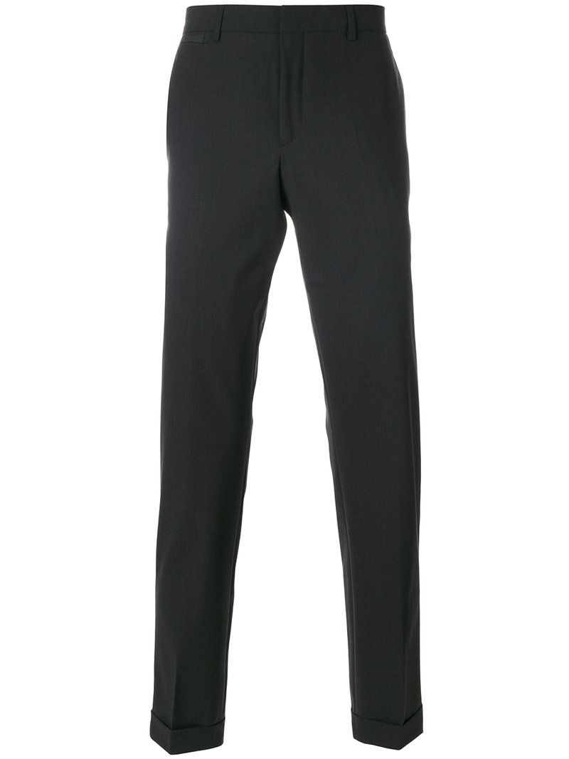 tapered tailored trousers - Blue Prada LSwLtiI