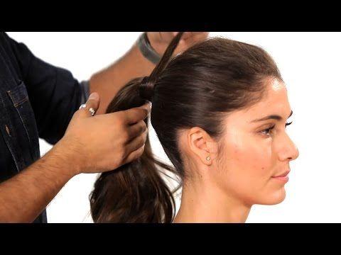 How to Do a Volumized Ponytail | Salon Hair Tutorial - YouTube