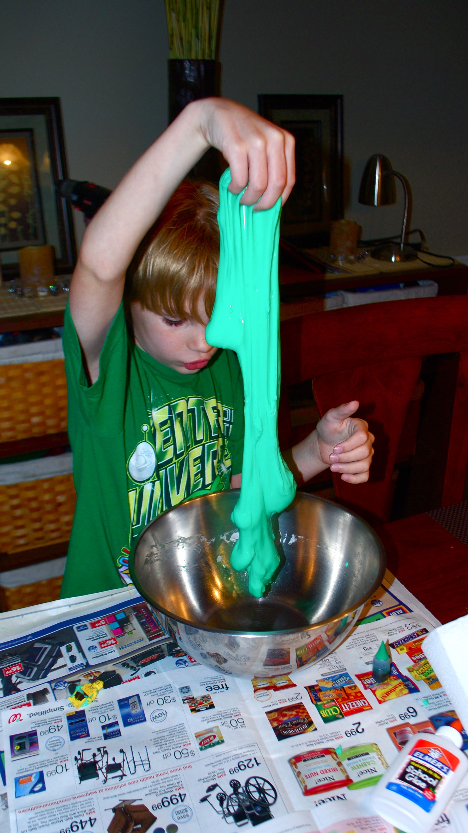 Gak with glue and borax httpstevespanglerscience how to make do it yourself slime using elmers glue and borax solutioingenieria Gallery