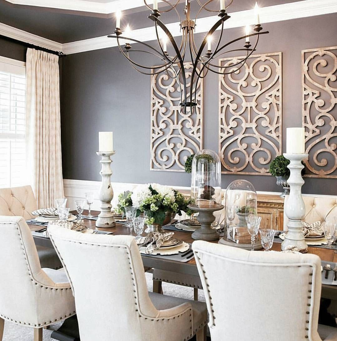 Charming And Cheap Decor Ideas Formal Dining Room: Beautiful & Inspiring Dining Room.. . By @decoratingden