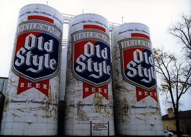 World S Largest 6 Pack On The Old Heileman Brewery In La Crosse Wi The Brewery Has Been Sold And The Six Pack Has Been Repainted Since This P