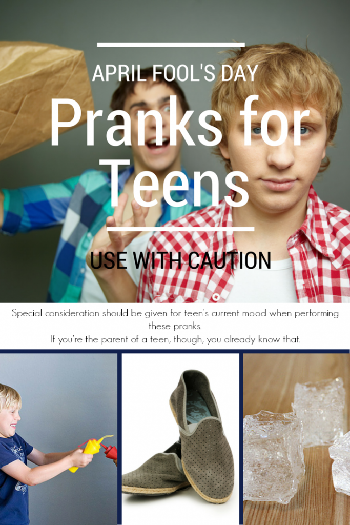 These fun pranks for teens will definitely get a giggle out of your older kids on April Fool's Day. But beware of mood swings before starting!