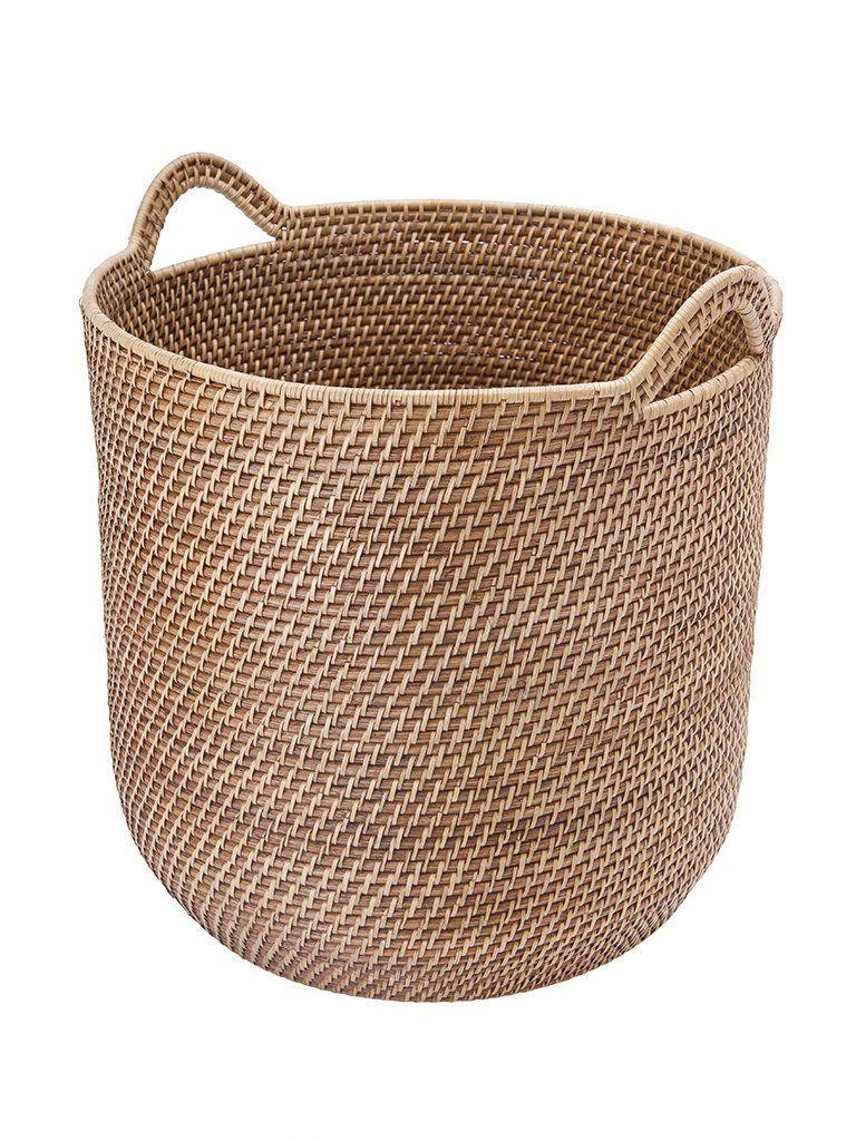Wicker Baskets Rattan Baskets Beachfront Decor In 2020 Storage Baskets Woven Baskets Storage Rattan Basket