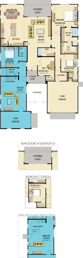 2594sf, 4/3/3 car Floor Plans Pinterest House plans, House and