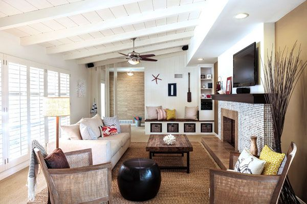 Casual Home Decor 46 casual beach chic rooms to inspire | beach and room